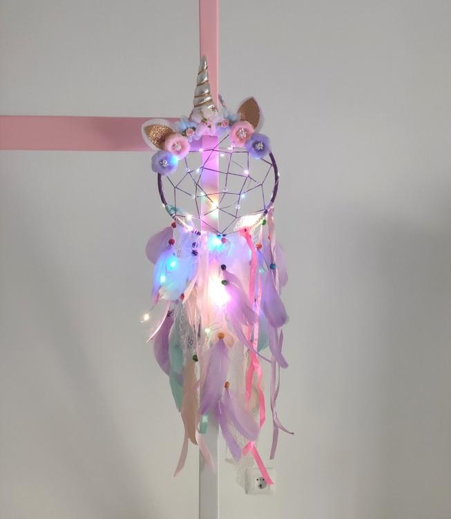 atrapasueños-unicornio-luces