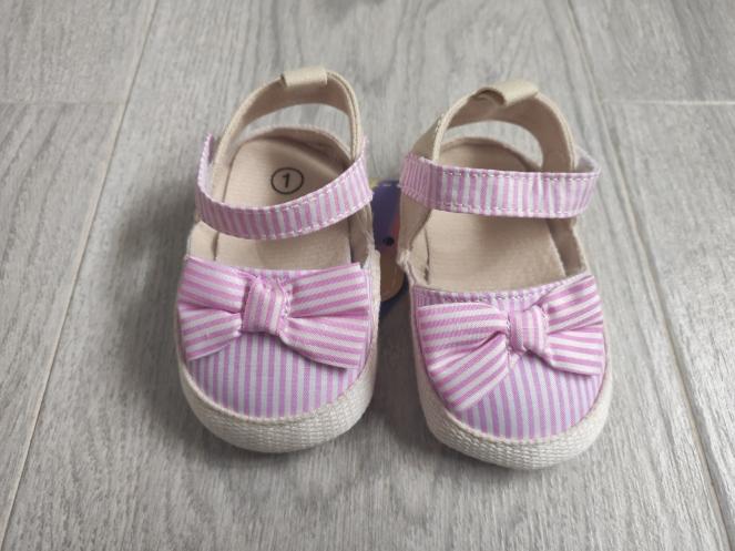 chanclas aliexpress rosa bebe