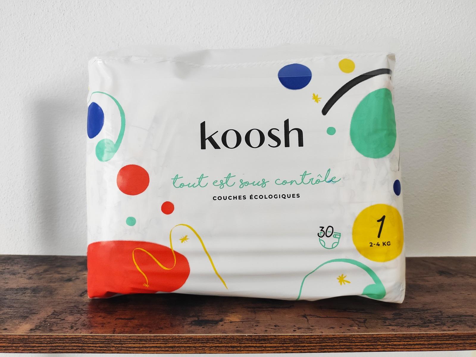 pañales ecológicos de Koosh